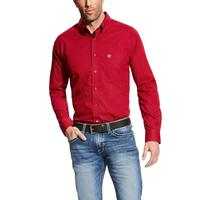 Ariat Men's True Crimson Glen Shirt