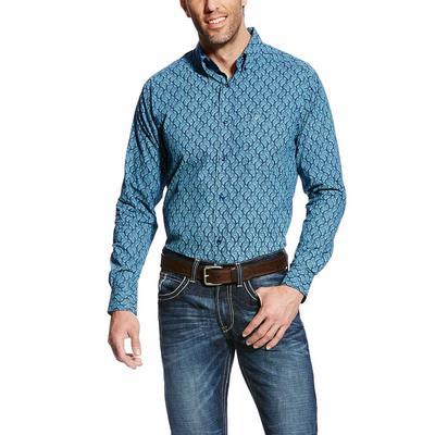 Ariat Men's Mood Indigo Gavriel Fitted Shirt