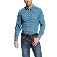Ariat Men's Mood Indigo Gavriel Fitted Shirt