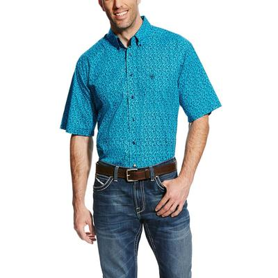 Ariat Men's Perfect Turquoise Gilbert Shirt