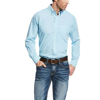 Ariat Men's Blue Sky Wrinkle Free Kendall Shirt