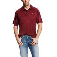 Ariat Men's Berry Bark Basic Charger Polo