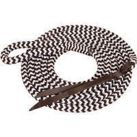 Mustang Mfg. Eye-Slide Black & White Lead