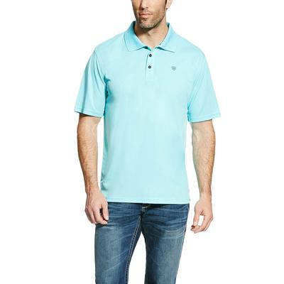 Ariat Men's Blue Radiance Tek Polo