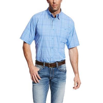 Ariat Men's Delphinium Plaid Venttek Shirt