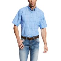 Ariat Men's Delphinium Plaid VentTEK Shirt