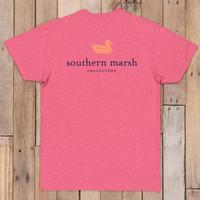 Southern Marsh Men's Authentic Vibrant Heathered T-Shirt