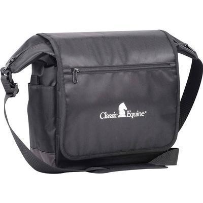 Classic Equine Messenger Bag BLK
