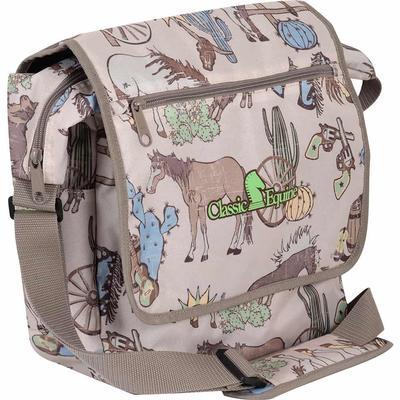 Classic Equine Messenger Bag