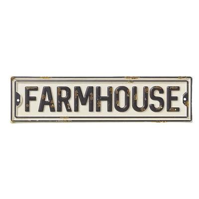Farmhouse Mini Metal Street Sign