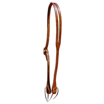 Berlin Custom Leather Slot Ear Headstall