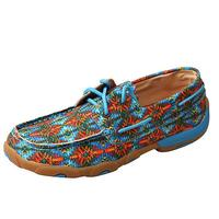 Twisted X Women's Multi Colored Driving Moccasins