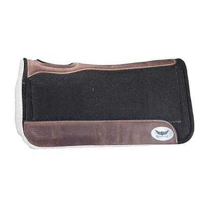 Cactus Saddlery Relentless Fleece Bottom Roper Pad, Black