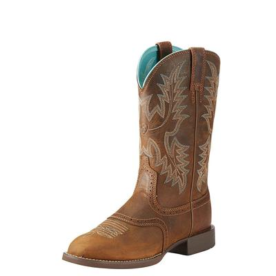 Ariat Women's Sassy Brown Heritage Stockman Boots