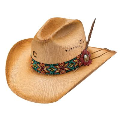 Charlie 1 Horse Women's Gold Digger Straw Hat