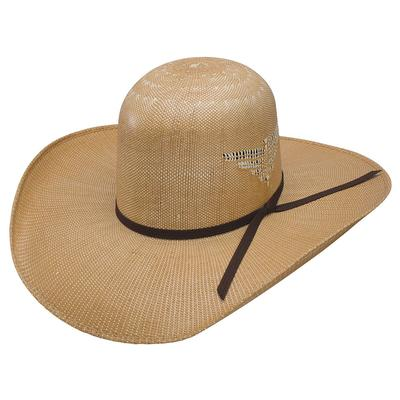 Resistol Men's Whiskey Wild Man Straw Hat