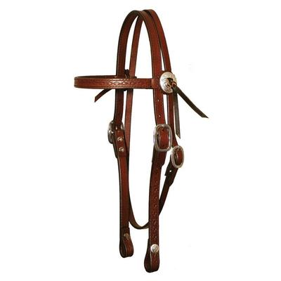 Circle Y Southwest Border Tool Browband Headstall