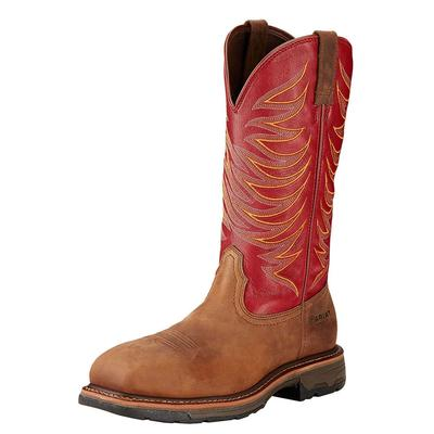 Ariat Men's Ruby Red Workhog Tall Ii Composite Toe Work Boot