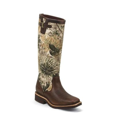 Chippewa Men's 17 Barbary Brown Gameguard Snake Boot
