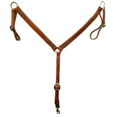 San Saba Eqine Harness Leather Breast Collar