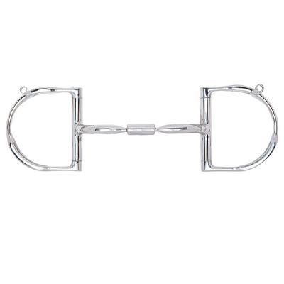 Myler Dee Ring Comfort Snaffle With Hooks