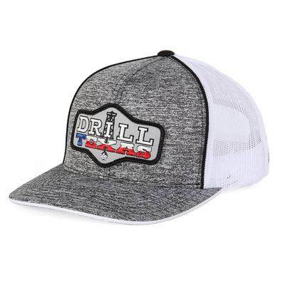Red Dirt Hat Co.'s Heather Grey Drill Texas Cap