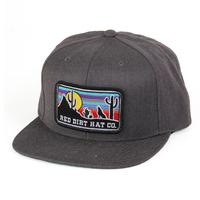Red Dirt Hat Co.'s Charcoal Coyote Cap