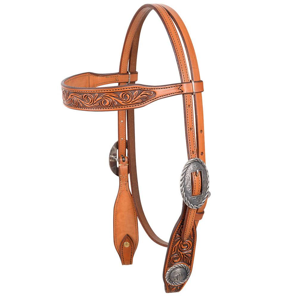 Martin Saddlery Rockin Out Indian Headstall
