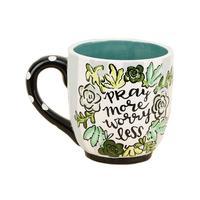 Pray More Worry Less Mug