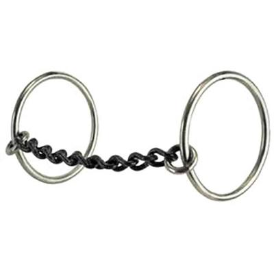 Reinsman Medium Rings Small Chain Mouth Bit