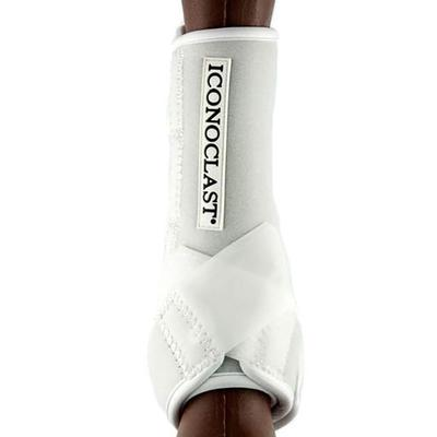 Iconoclast Orthopedic Support Front Boots In White - X-Large