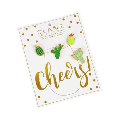 Cactus Cup Charms - 4 Ct.