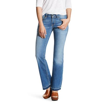 Ariat Women's Salt Water Cropped Straight Jeans