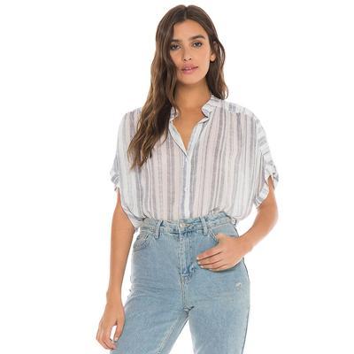 Bella Dahl Women's Flowy Button Down Shirt