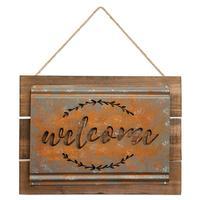 Welcome Acid Wash Sign