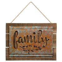Family Acid Wash Sign