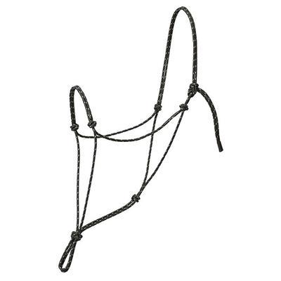 Weaver Silvertip Reflective Rope Halter - Average Size