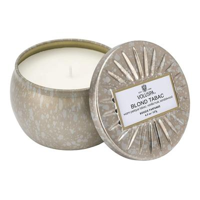Voluspa's Petite Blond Tabac Tin Candle