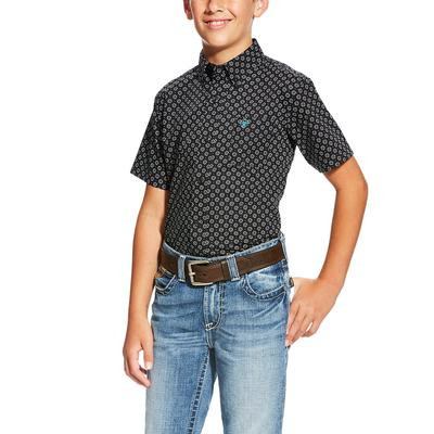 Ariat Boy's Short Sleeve Lynell Shirt