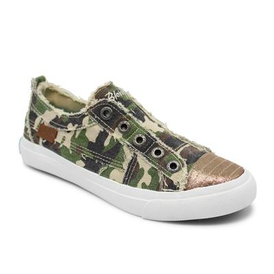 Blowfish Women's Play Sneakers OLIVEWASHEDCAMO(716)