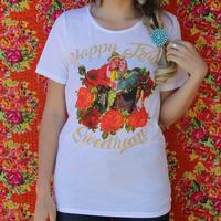 182e2cbad Rodeo Quincy Women's White Happy Trails T-Shirt