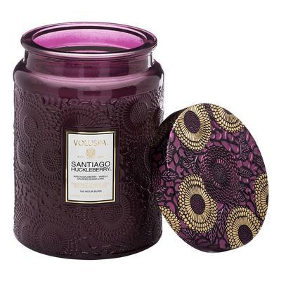 Voluspa's Large Santiago Huckleberry Jar Candle