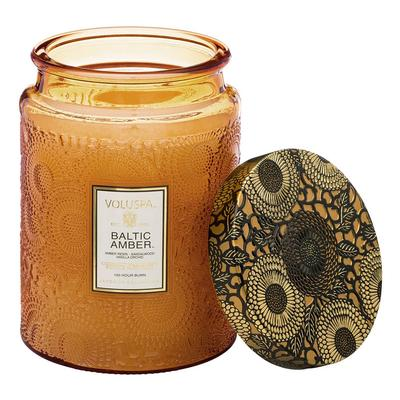 Voluspa's Large Baltic Amber Jar Candle