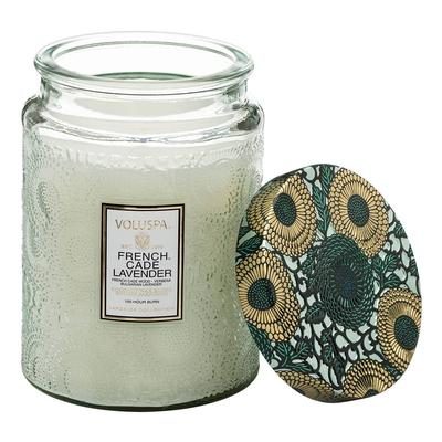 Voluspa's Large French Cade Lavender Jar Candle