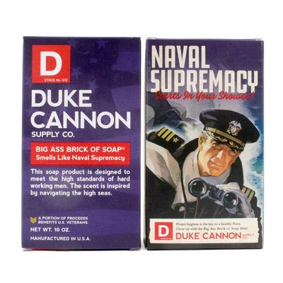 Duke Cannon's Limited Edition Wwii Era Big A Brick Of Soap Naval Supremacy