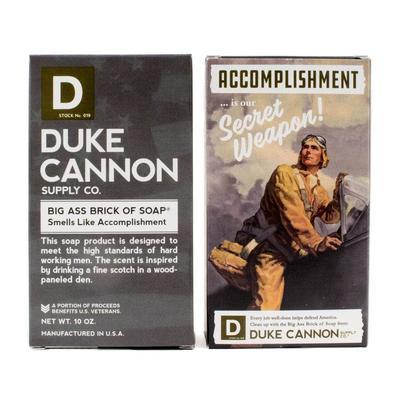 Duke Cannon's Limited Edition Wwii Era Big A Brick Of Soap Accomplishment
