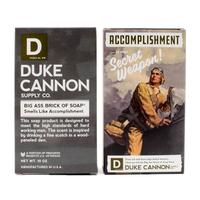Duke Cannon's Limited Edition WWII ERA Big A Brick Of Soap Accomplishment