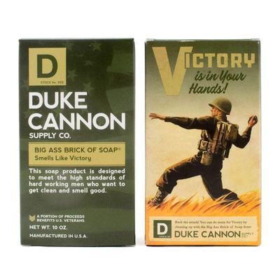 Duke Cannon's Limited Edition WWII ERA Big A Brick Of Soap Victory