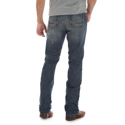 Wrangler Men's Medium Wash 20X No. 44 Slim Straight Jean