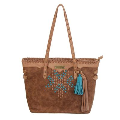Catchfly Concealed Carry Leather Tote